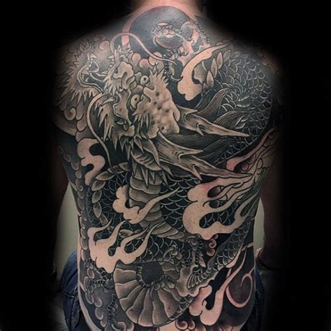 full back dragon tattoo designs 60 back designs for breath of power