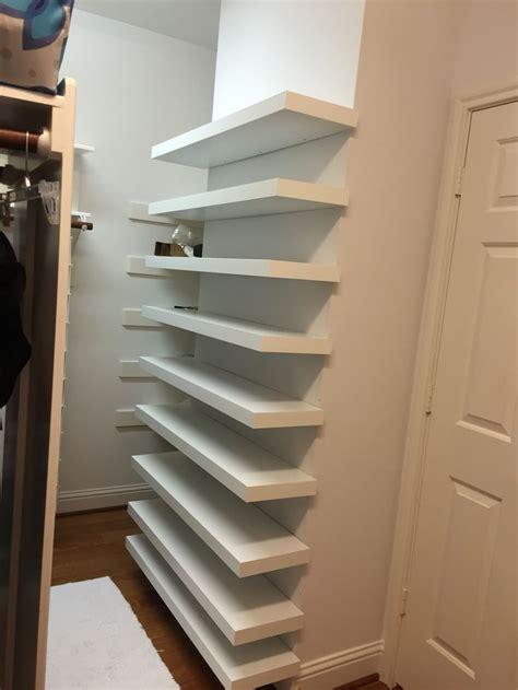 Closet Shoe Storage Shelves 28 Images Built In Shoe Shoe Shelves For Closets