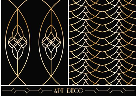 pattern art deco art deco geometric vector patterns download free vector