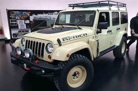 jeep africa jeep wrangler africa concept front three quarter photo 13
