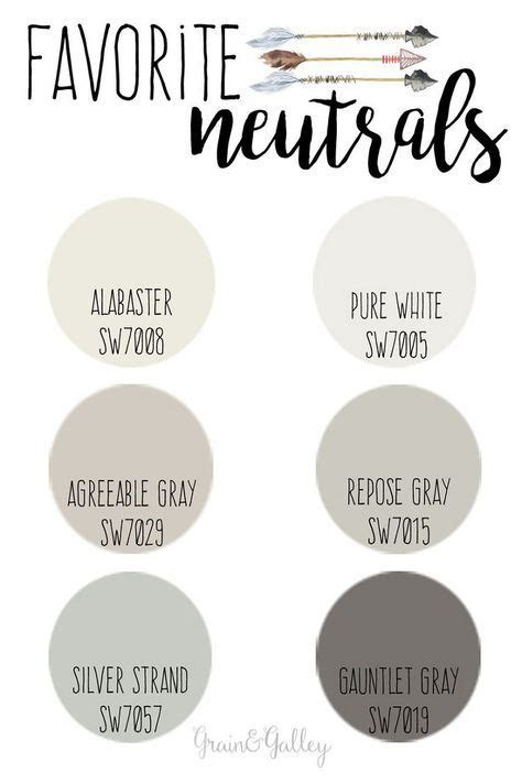 agreeable gray  alabaster trim paint colors  home