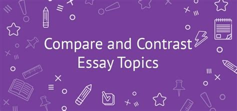 Compare Contrast The Olsens Vs The Trainas by How To Write A Title For A Comparison Essay Quora