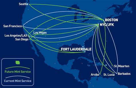 seattle airport map jetblue jetblue lie flat seats coming to more cross country