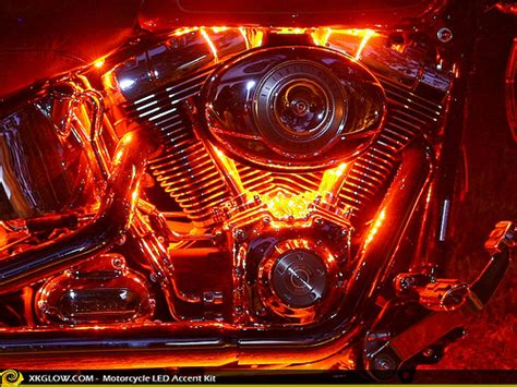 motorcycle led accent lights xkglow motorcycle led accent light pod neon kit10 flickr