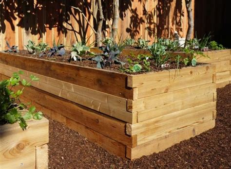 cedar raised garden bed kits gardenista