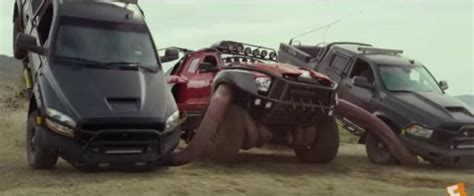 monster trucks  takes product placement