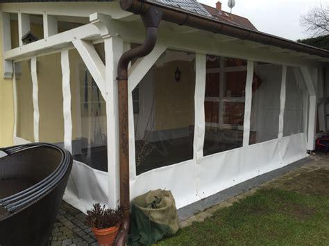 pavillon vorh nge terrassenverkleidung aus plane nuck gmbh