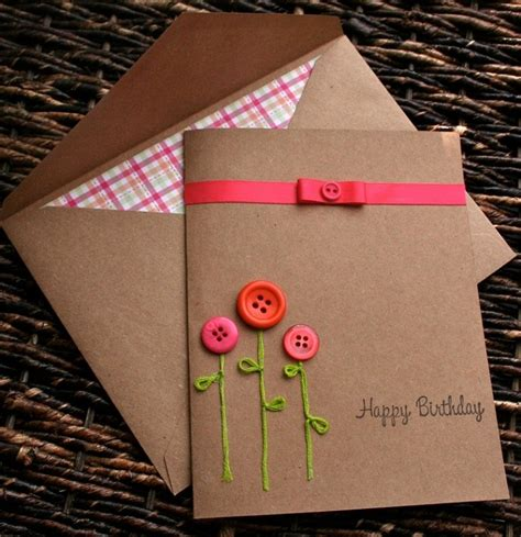 Handmade La - diy birthday card ideas methods 2happybirthday