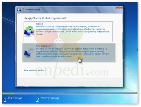 format cd vista windows vista bilgisayara format atmak todaysunkx over