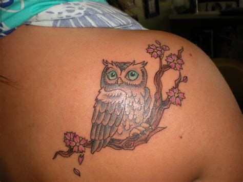 small tattoo woman owl ideas best 2015 designs and ideas for