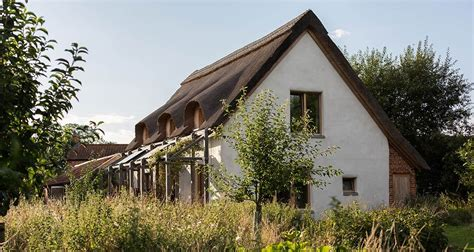 straw bale cottage norfolk straw bale cottage aims for passive