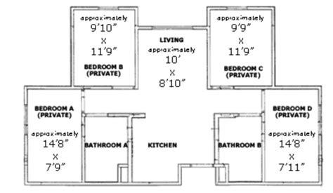cal poly floor plans poly canyon village housing san luis obispo ca