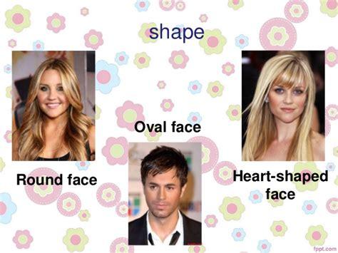describing face shapes describing people