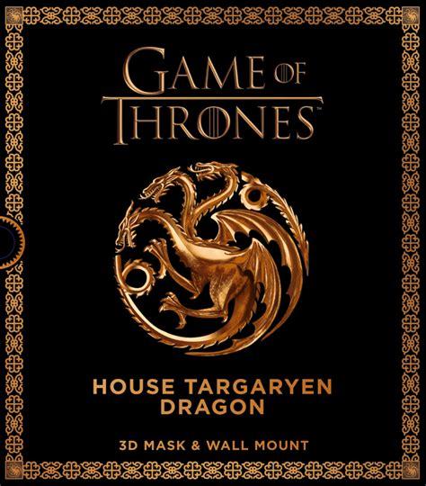 House Targaryen of thrones mask house targaryen carlton books