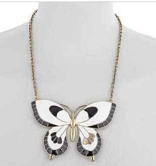 Enamel Butterfly Necklace By Miss Selfridge by La Mode And Other Things It S An Animal World