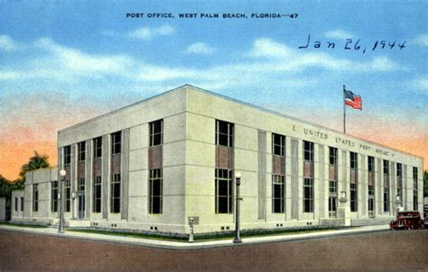 West Palm Post Office by West Palm And Post Office