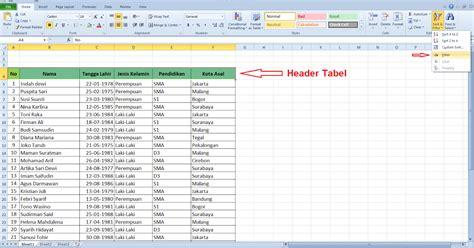 cara membuat data query di excel cara membuat filter data di microsoft excel cari2 cara