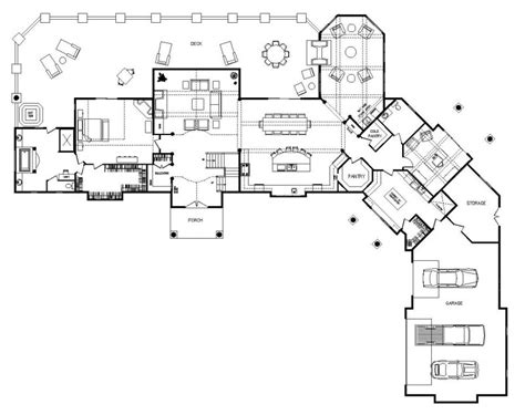 one story mansion floor plans one story log home designs one story log home floor plans