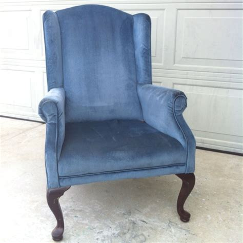 Small Wing Back Chair Design Ideas Wing Back Chairs Blue Www Pixshark Images Galleries With A Bite