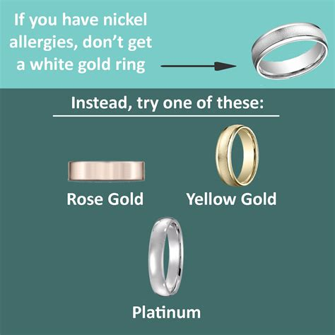 can you wear palladium and white gold rings together