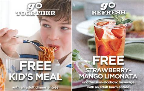 olive garden or applebees applebees olive garden coupons free meal toda