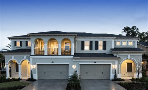 villa style homes standard pacific homes unveils new villa style homes in