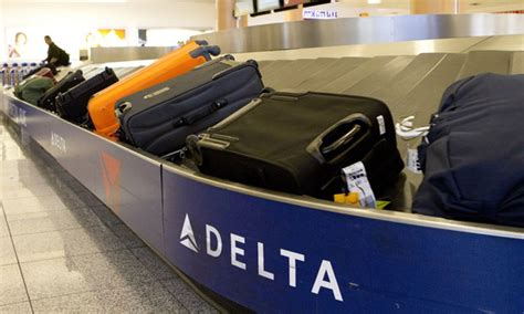 united airlines baggage fees international get your checked bag in 20 minutes promises delta