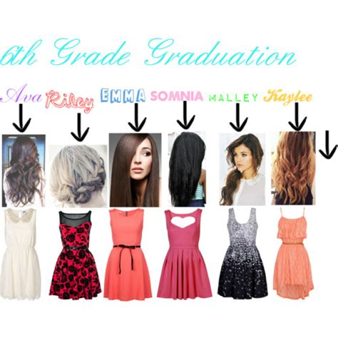 Black Hairstyles For 6th Grade by 6th Grade Graduation Polyvore