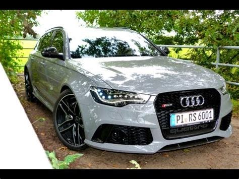 Audi Rs6 Neu by Neu Testbericht Audi Rs6 Avant 2013 Road Test Drive