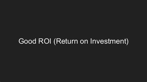 Eller Mba Return On Investment by You At Social Media But You Can Fix It Maybe