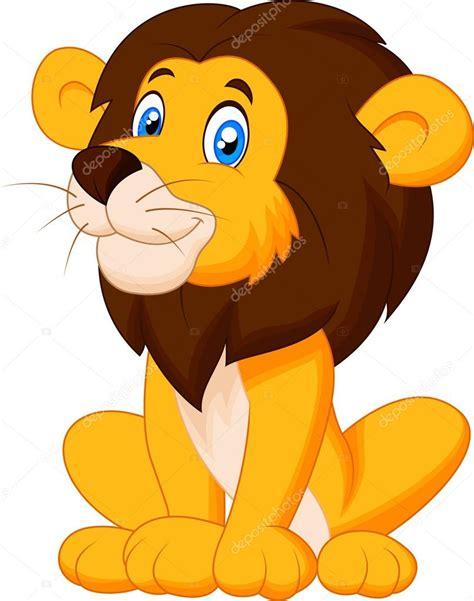 imagenes leones en caricatura le 243 n sentado vector de stock 169 tigatelu 44736925