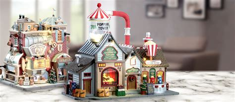 lemax 2017 holiday christmas village collection