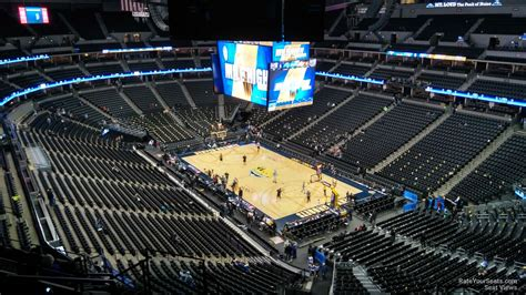 Pepsi Center Section 370 Denver Nuggets Rateyourseats Com