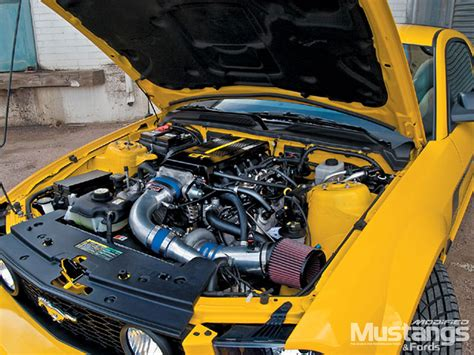 2005 ford mustang gt engine mdmp 0709 01 z 2005 ford mustang gt engine photo