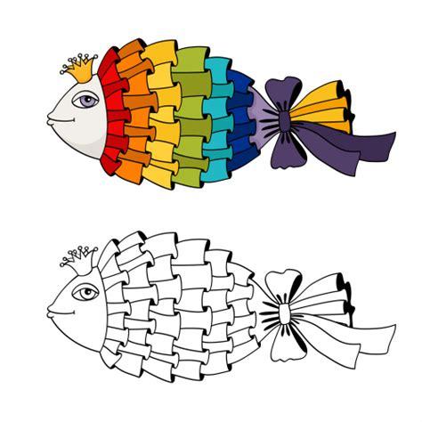 advanced fish coloring pages advanced coloring page ribbon fish kidspressmagazine com