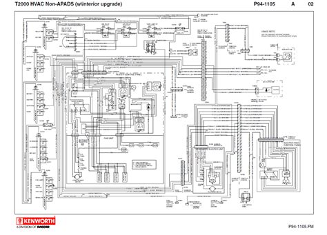 kenworth t2000 electrical wiring diagram manual pdf