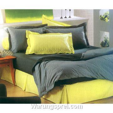 Bedcover Set Polos 200x200x25cm Jaxine Abu Abu sprei polos abu kuning warungsprei