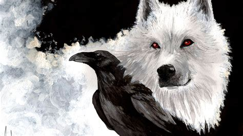 wallpaper ghost game of thrones 1920x1080 game of thrones wolf the beak ghost view