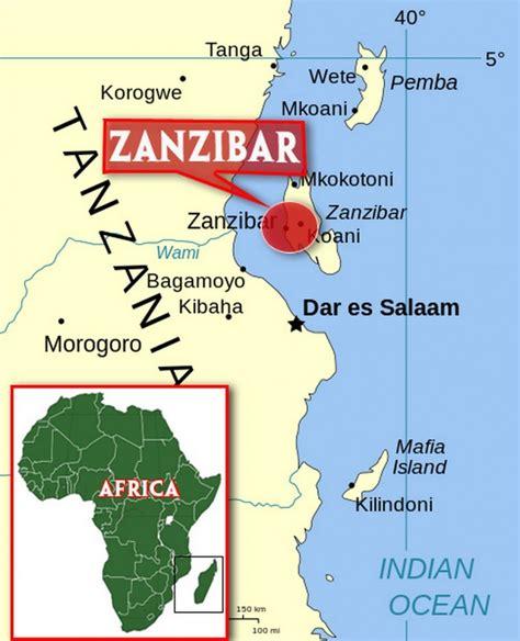 zanzibar map zanzibar africa map images