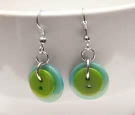earrings simple best 20 button earrings ideas on earrings handmade diy earrings and button bracelet
