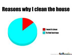 House Cleaning Memes by Reasons I Clean The House By Troll Warrior Meme Center