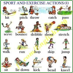 click on physical activities p e classes