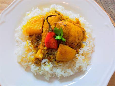馗ole de cuisine cuisine antillaise colombo de poulet 28 images recette
