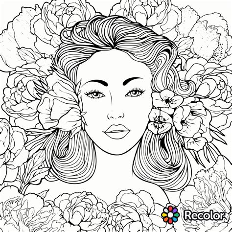 re color coloring page recolor app beautiful