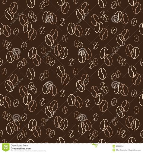 coffee shop background pattern royalty free vector image seamless pattern with coffee beans vector illustration