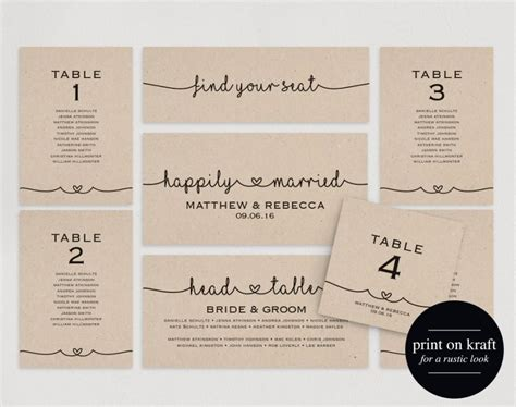 wedding table seating cards template wedding seating chart seating plan template diy