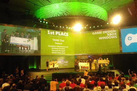 design competition thailand usa and thailand win imagine cup gaming design competition