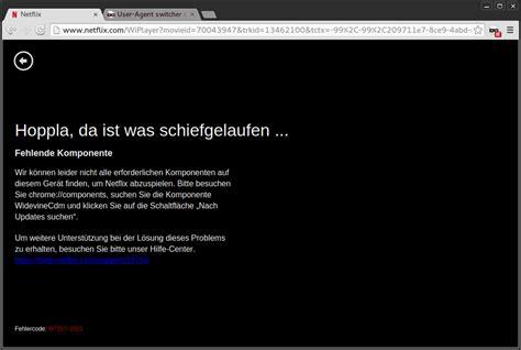 Netflix Hoppla Da Ist Etwas Schiefgelaufen by Netflix Startet In Deutschland Dank Html5 Player Tut Der