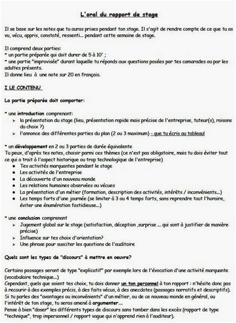Exemple Lettre De Remerciement Rapport De Stage 3eme Exemple De Rapport De Stage 3eme Rapport De Stage 3eme
