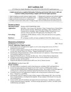 cisco network engineer resume sle technical support cv rnei sle resume desktop support